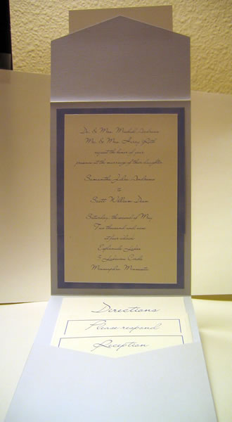 Click here to see Wedding Program samples